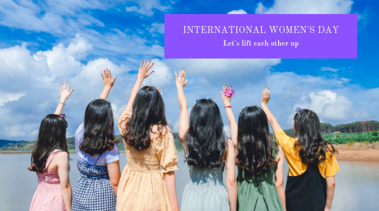 Happy International Women's Day! Let's lift each other up!